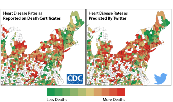 Penn Research Team Finds Twitter Postings Can Predict Coronary Heart Disease Rates